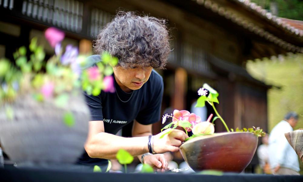 FLOWER EXHIBITION IN SHIZUTANI